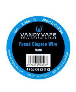 fused clapton ni80 vandyvape maroc