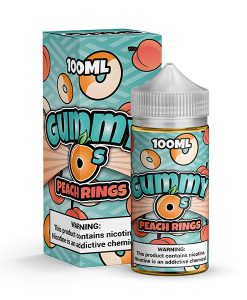 Peach Rings Gummy O's 100ml