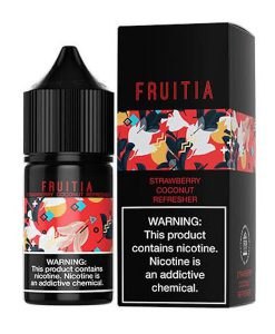 strawberry coconut refresher fruitia 60ml