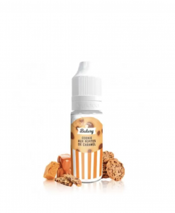Cookie aux pépites de caramel 10ml Liquideo