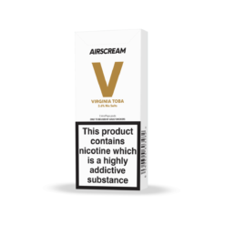 Virginia Toba 2-Pack pods 36mg by Airscream